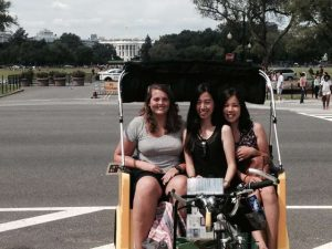 Pedicab Tour at White House