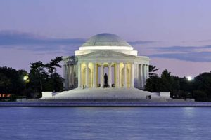 Jefferson Memorial Twilight