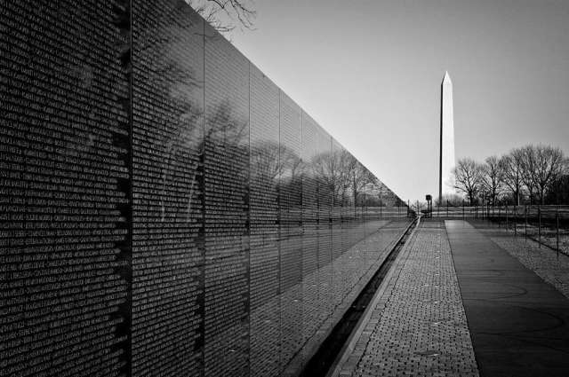 Image result for vietnam war memorial