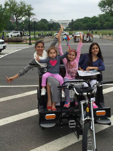 Family Friendly Tour of Washington DC at White House