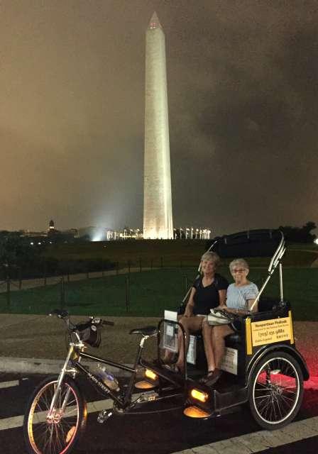 Twilight Tour Washington Monument