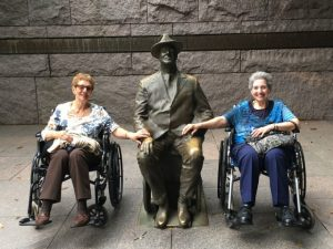 Handicapped Access at the FDR Memorial