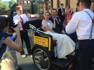 Washington DC Pedicab Wedding
