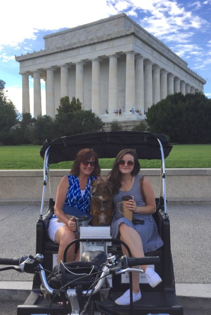 Dog Friendly Tour at the Lincoln Memorial