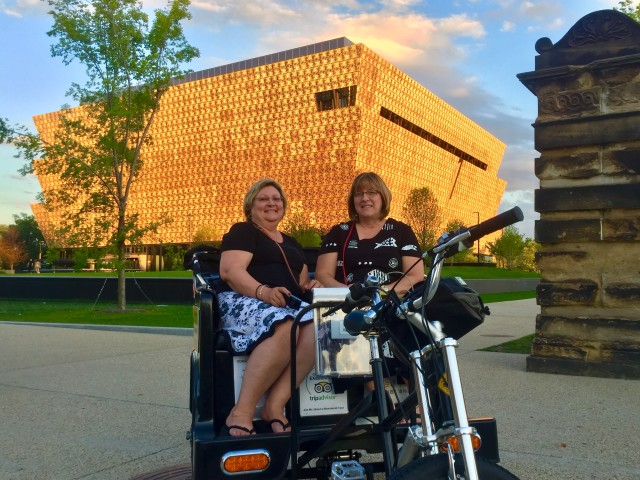 Twilight tour at Smithsonian African American Museum