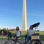 Lee and Ella at the Washington Monument yesterday