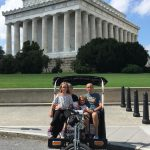 Fantastic folks from Tennessee at the Lincoln Memorial