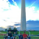 Fine folks from Kentucky at the Washington Monument