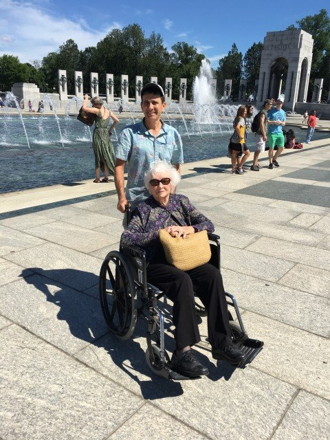 Touring the WWII Memorial