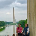 What a wonderful tour today around all the monuments on the National Mall @nonpa...