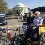 Touring Washington DC with Elderly Visitors - Nonpartisan Pedicab