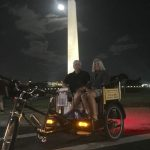 What is the best way to see the Washington DC monuments after dark? By walking 6...