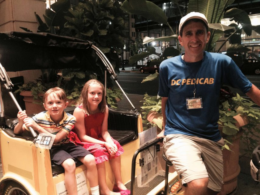 Kid Friendly Tours of Washington DC – Nonpartisan Pedicab