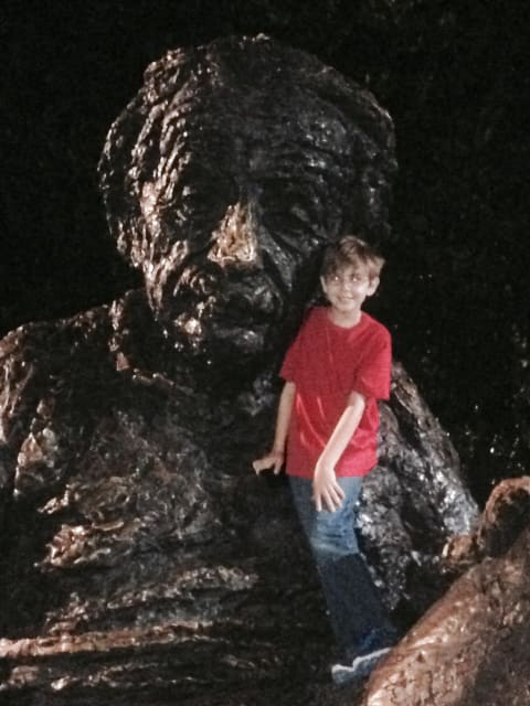 Kid Friendly Tours Einstein Memorial