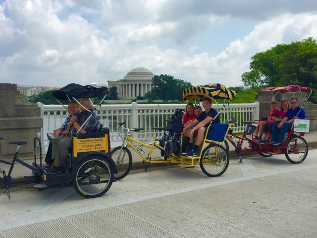 Handicapped Tour Jefferson Memorial