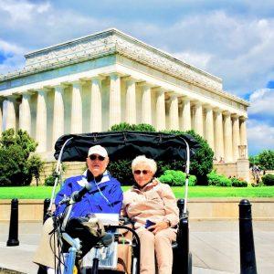 Elderly Tour National Mall